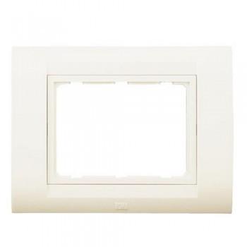Anchor Roma TRESA Face Plate White 30216WH 1 Module