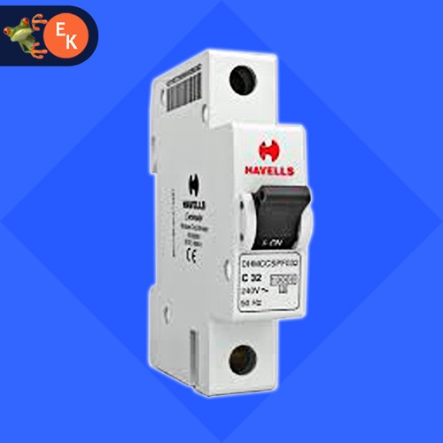 10A 1POLE CHANNEL TYPE MCB HAVELLS