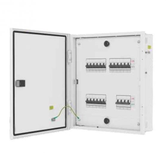 L&T DBTPN012SD IP30 12 Way Single Door Distribution Box