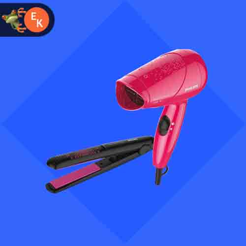 Philips Hair Dryer And Straightener Combo HP8643/46