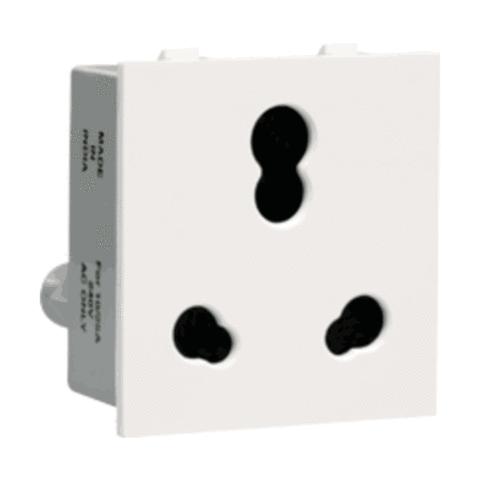 Thames Socket 6-16 A 3 Pin shuttered Socket