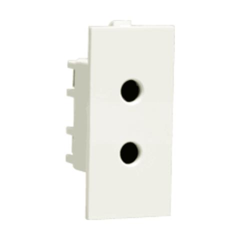 Thames Socket 6A 2 Pin shuttered Socket