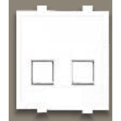 Anchor Roma 20846 RJ11 Telephone Jack Double with Shutter