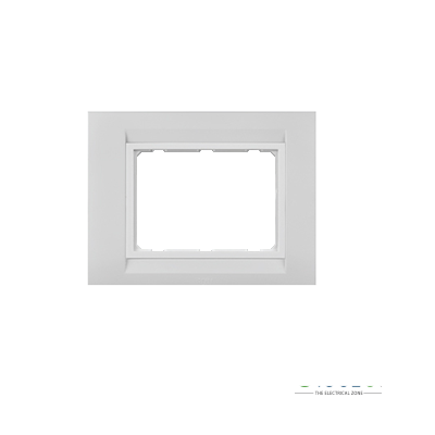 Anchor Roma TRESA Face Plate White 30260WH 8 Module Vertical