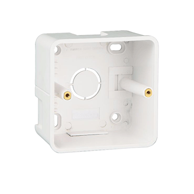 Anchor Rider 1/2 Module Surface Box 21281 , White