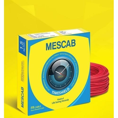 Mescab wire Fire Resistant 100 Mtrs 10 Sq mm