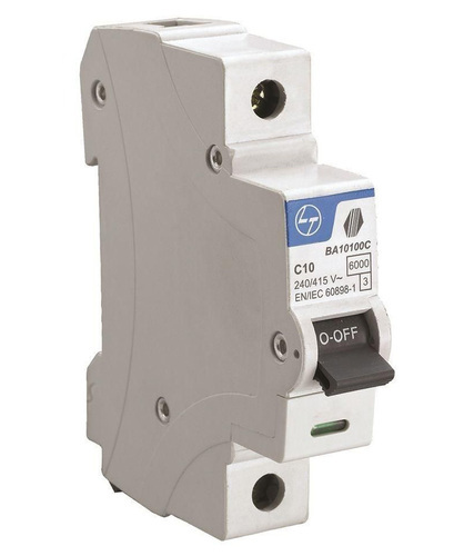 L&T BB10060C 6 A Single Pole Miniature Circuit Breakers MCB