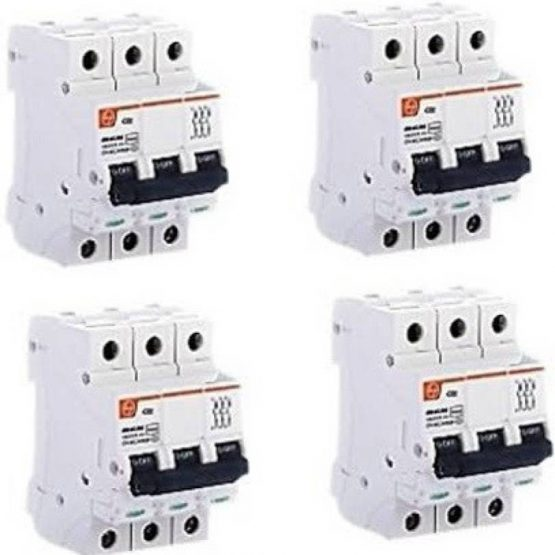10 Ampere Three Pole MCB