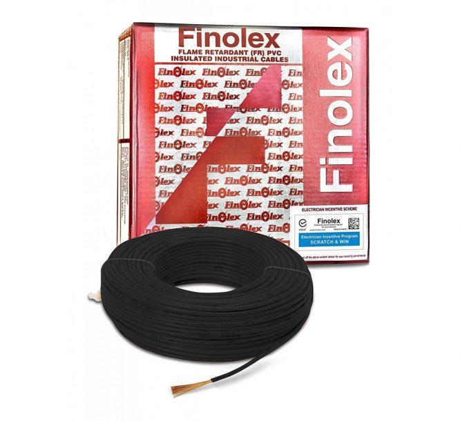 finolex 3 ore 6sqmm wire, 6 sqmm wire