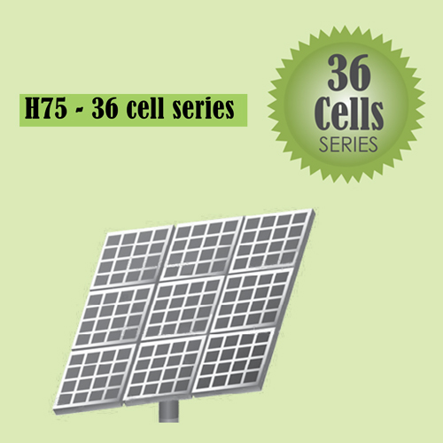 H75 Solar 36 cell series
